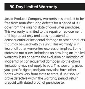 90 Day Battery Warranty